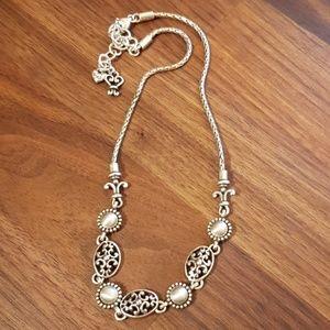 Brighton pearl necklace